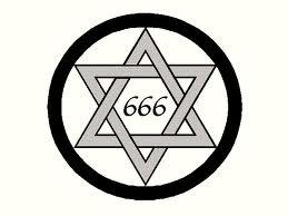 Estrella de David, simbolizando la caída