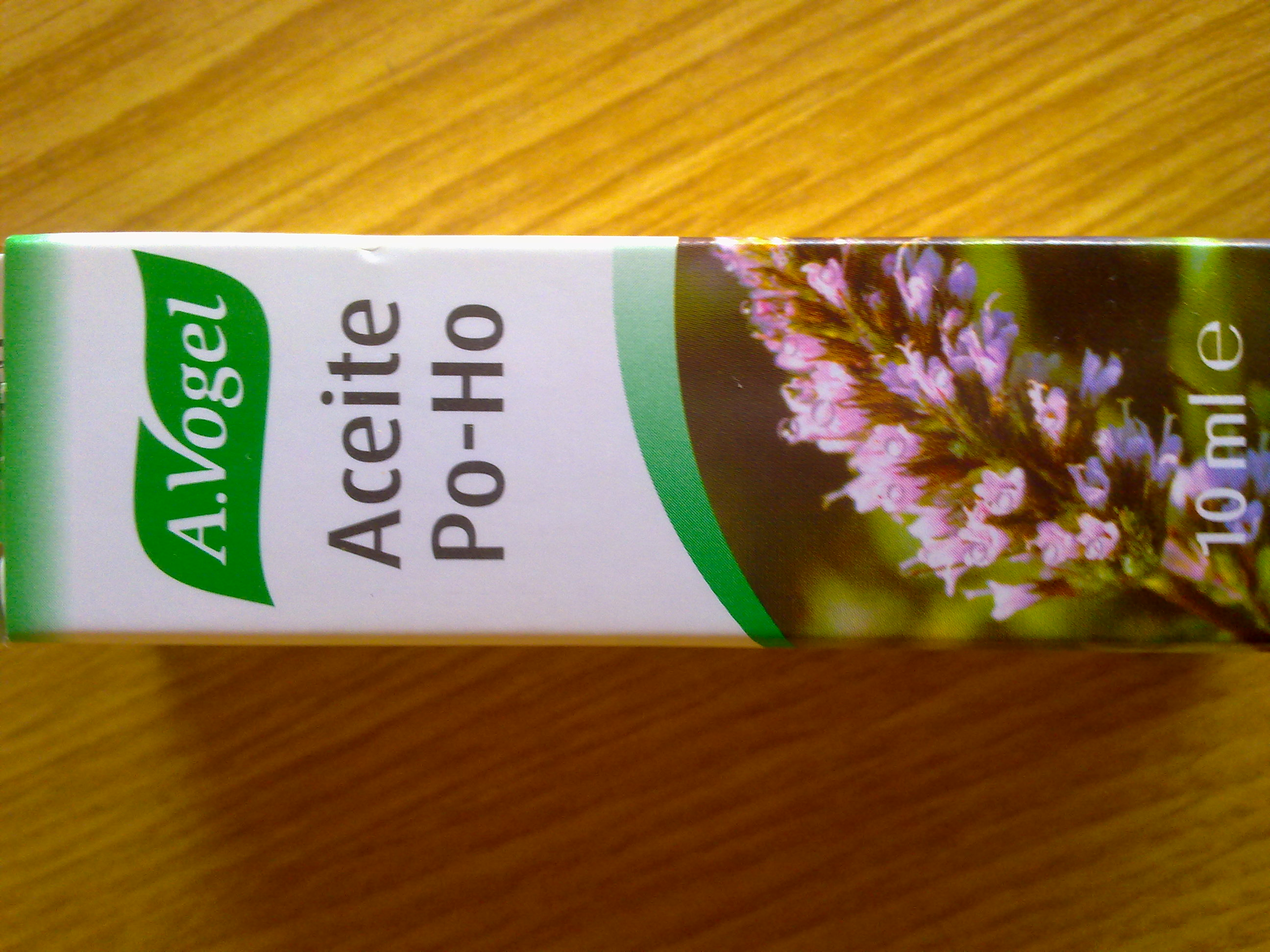 Aceite PO-HO. A.Vogel